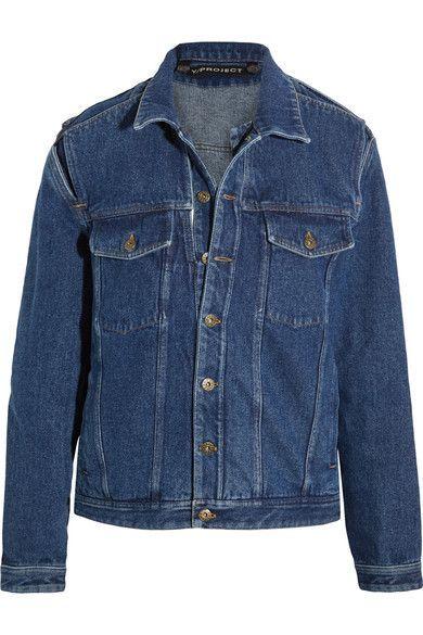 Y/PROJECT - Layered Denim Jacket - Dark denim - FR52