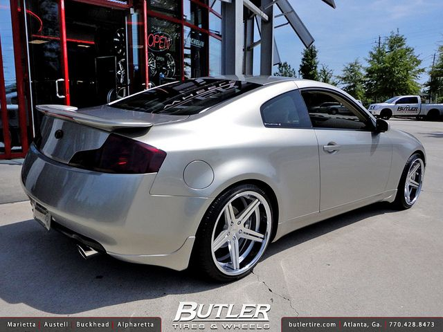 Hyundai Veloster Tires >> Infiniti G35 with 20in TSW Mirabeau Wheels concave