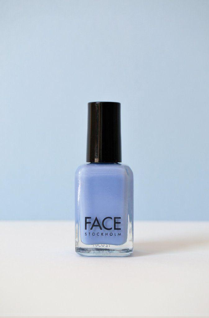 FACE STOCKHOLM lavendel blauwe NAGELLAK Cream Periwinkle