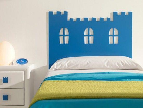 Las 25 mejores ideas sobre cama de castillo en pinterest y - Cabeceros ninos originales ...