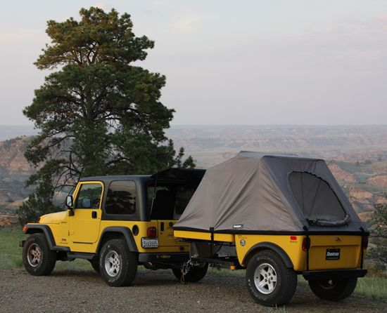 Jeep Wrangler Off Road Camper Trailers and Jeep 4x4 Campers by Tentrax. I want!!!!