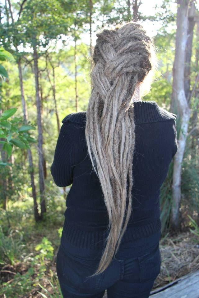 awesome dreadies created by Amy & Stephan at ORGANIC DREADLOCKS!