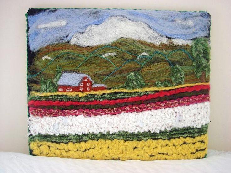 Tulip fields in Skagit County, Wa.