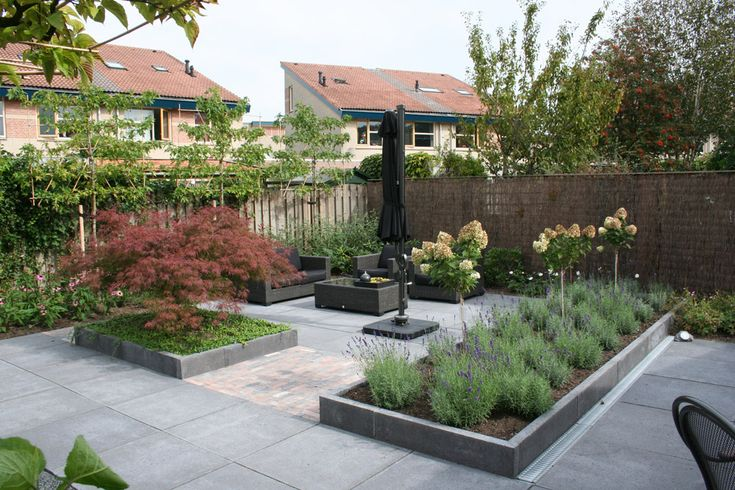 1000 images about tuin on pinterest verandas met and for Aanleg kleine tuin