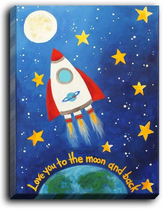 17 Best ideas about Nursery Canvas Art