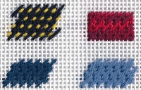 Stitch of the WeekNeedlepoint Stitches Projects, Rittenh Needlepoint, Hmm Which Stitches, Nobuko, Needlepoint Stitchesproject, Hmmwhich Stitches, Needle Stitches, Rittenhouse Needlepoint, Weeks
