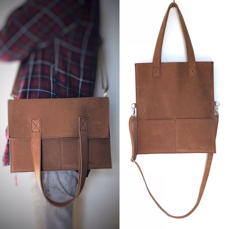 Shopper/ cross-body bag.