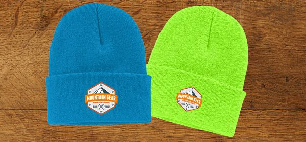 Your Logo Will Look Great On Custom Embroidered Beanies! http://wp.me/p4p1yq-h4K #customembroideredbeanies #embroidery #acuplus
