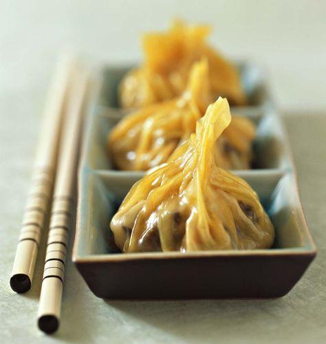 Raviolis au porc et aux crevettes, la recette d'Ôdélices : retrouvez les ingrédients, la préparation, des recettes similaires et des photos qui donnent envie !