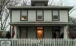 William Jefferson Blythe Clinton's Childhood home, in Little Rock, Arkansas