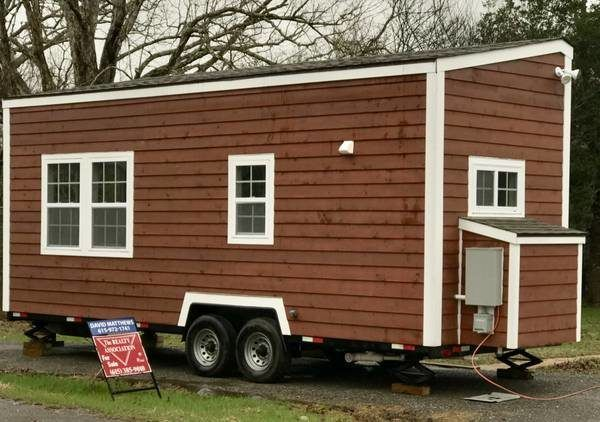 24 Foot Tiny House With Bay Windows