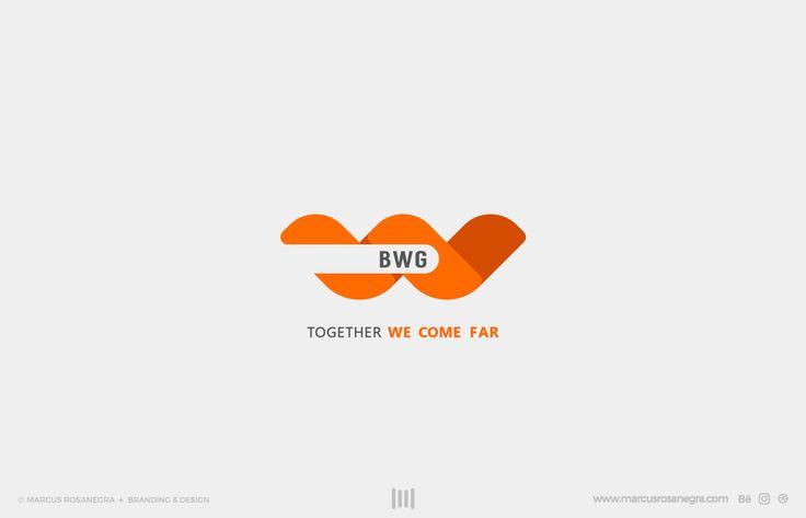 #logodesign #BWG #BusinessWorldGo #BWGColombia empresa de logistica internacional con el concepto de trabajar juntos para llegar mas lejos  #logo #Logos #Logotipo #Bogotá #COlombia