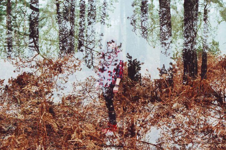 """Double Exposure"" #09 __ Photography: Oliver Morris __ #inspiration #creativity #concept #art #art_direction #digital #photography #digital_photography #oliver_morris #portrait #people #exposure #double_exposure #smashingpicture"