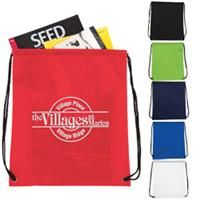 Non-Woven Drawstring Backpack    Our most popular bag, now available in non-woven polypropylene! Perfect for company events, team sports, education and more. •Drawstring cinch closure •Large imprint area •Increased branding options with front and back imprint areas    Product code: 15432  Qty:100-249250-499500-9991000+  ea.$2.89$2.29$1.79