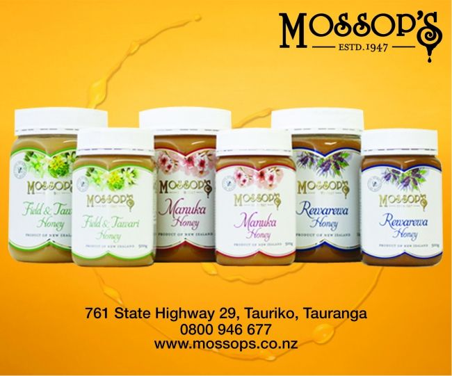 Enter to win: Win one of three 1kg Jars of Mossop's Honey  | http://www.dango.co.nz/pinterestRedirect.php