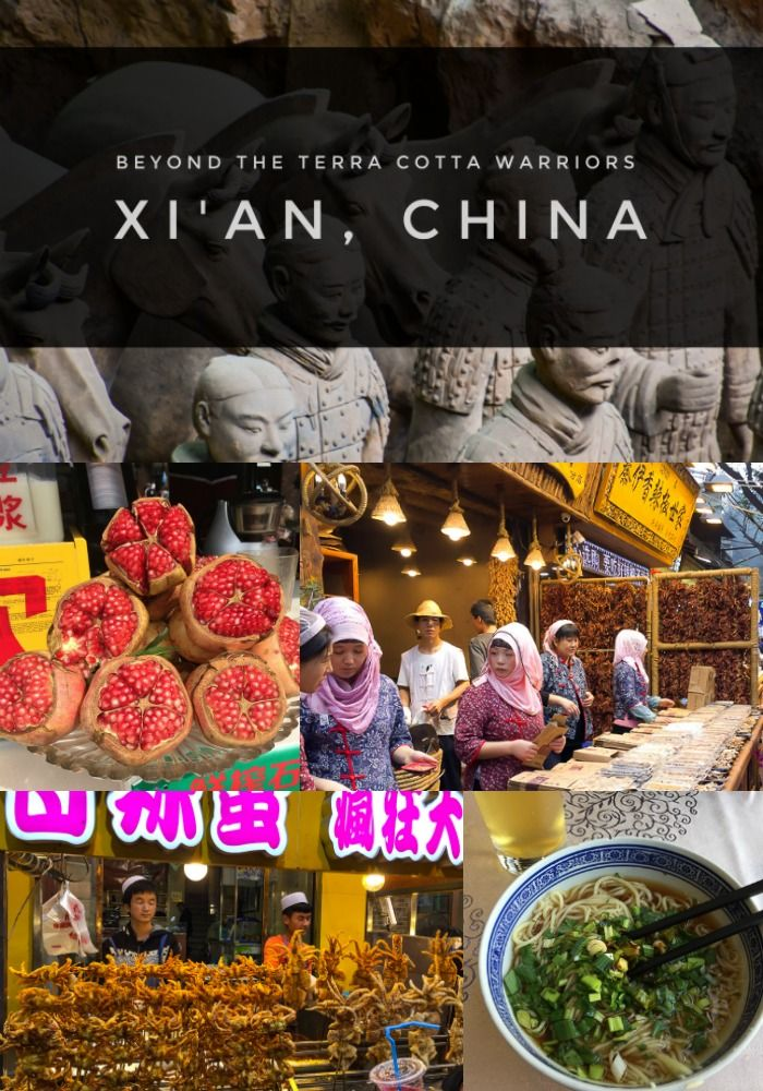 The Terra Cotta Warriors are the main event in Xi'an,China- but don't miss the street food haven in the Muslim Quarter.