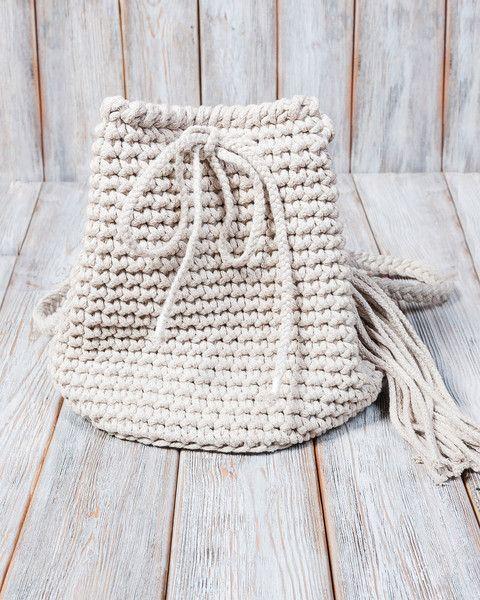 Umhängetaschen - Torebka-plecak 2w1 w kolorze kawy z mlekiem - ein Designerstück von Mayalove- bei DaWanda
