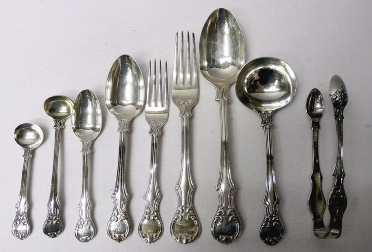 Antique Silver Cutlery for 12 – waxantiques