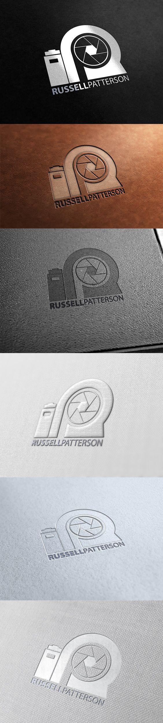 """RP"" Photography Logo Design Template"