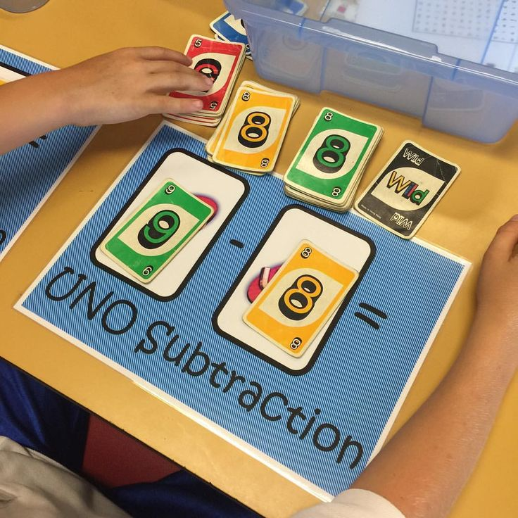 UNO card mathematics games now on my TPT! Addition and Subtraction in maths stations!  #teacherspayteachers #teacherlife #teachersfollowteachers #teachersofinstagram #teachersloveinstagram