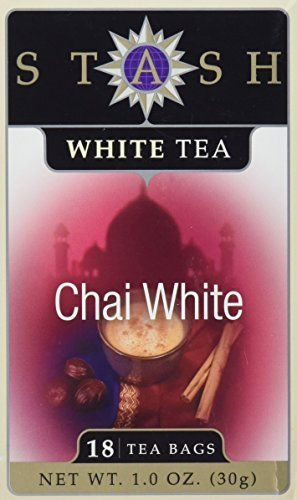 Premium Chai White Tea by Stash Tea Company - 18 Tea Bags * Continue to the product at the image link.