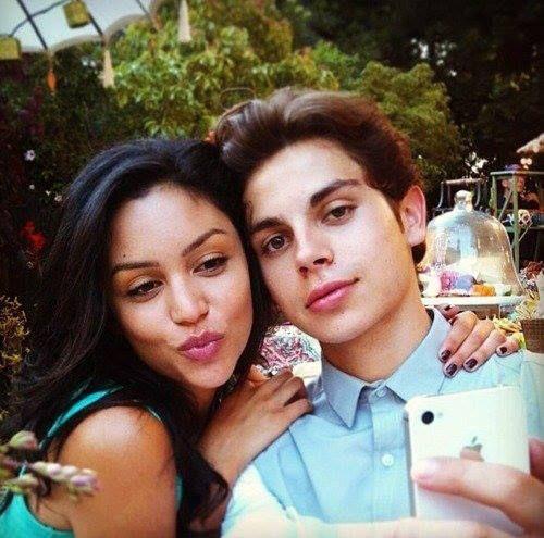 Jake T. Austin & Bianca Santos