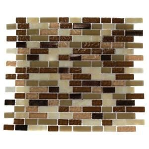 glass mosaic floor and wall tile southern comfort at the home depot