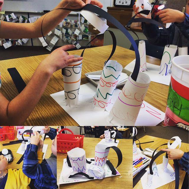 Make A Mark: Kindergarten Paper Form Sculptures