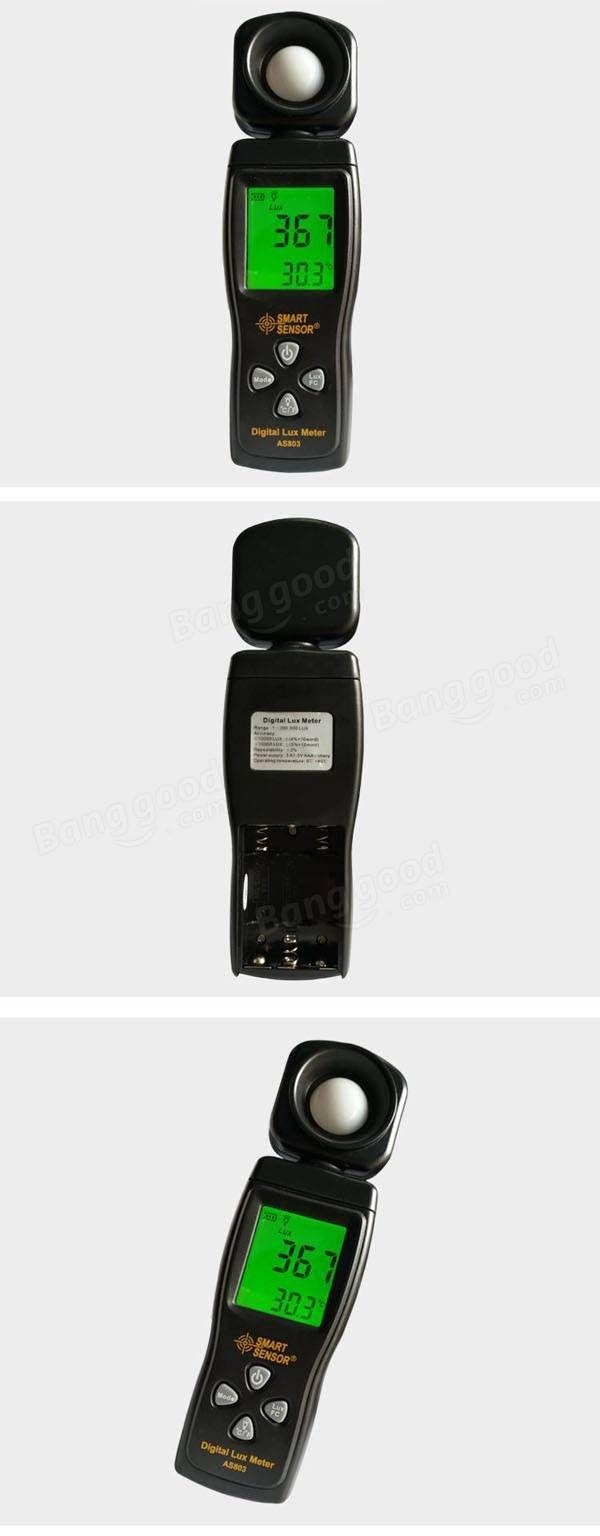 SMART SENSOR AS803 Digital illuminometer Brightness Detector Light Meter
