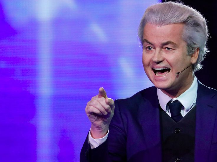 GEERT WILDERS: 'Whatever the outcome of the election today the genie will not go back into the bottle'