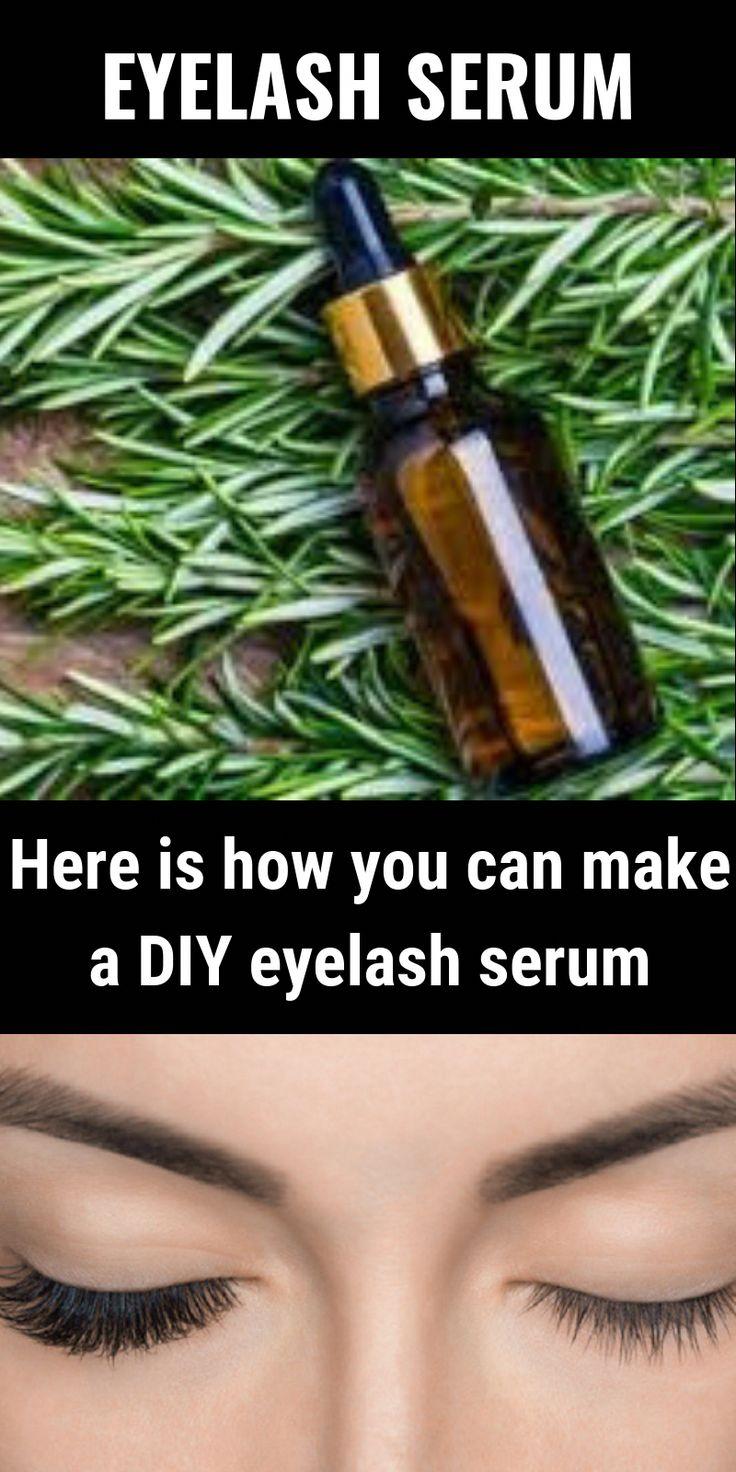 Diy eyelash serum eyelashes eyelashesgrowth diy beauty