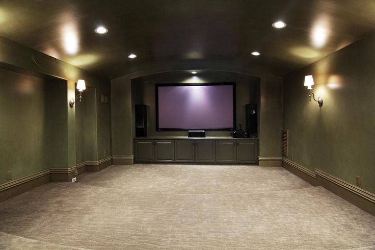Wall Lights For Movie Room : Martha Turner Properties :: 5566 Cedar Creek Dr Basement Living Pinterest Home, Plush and ...