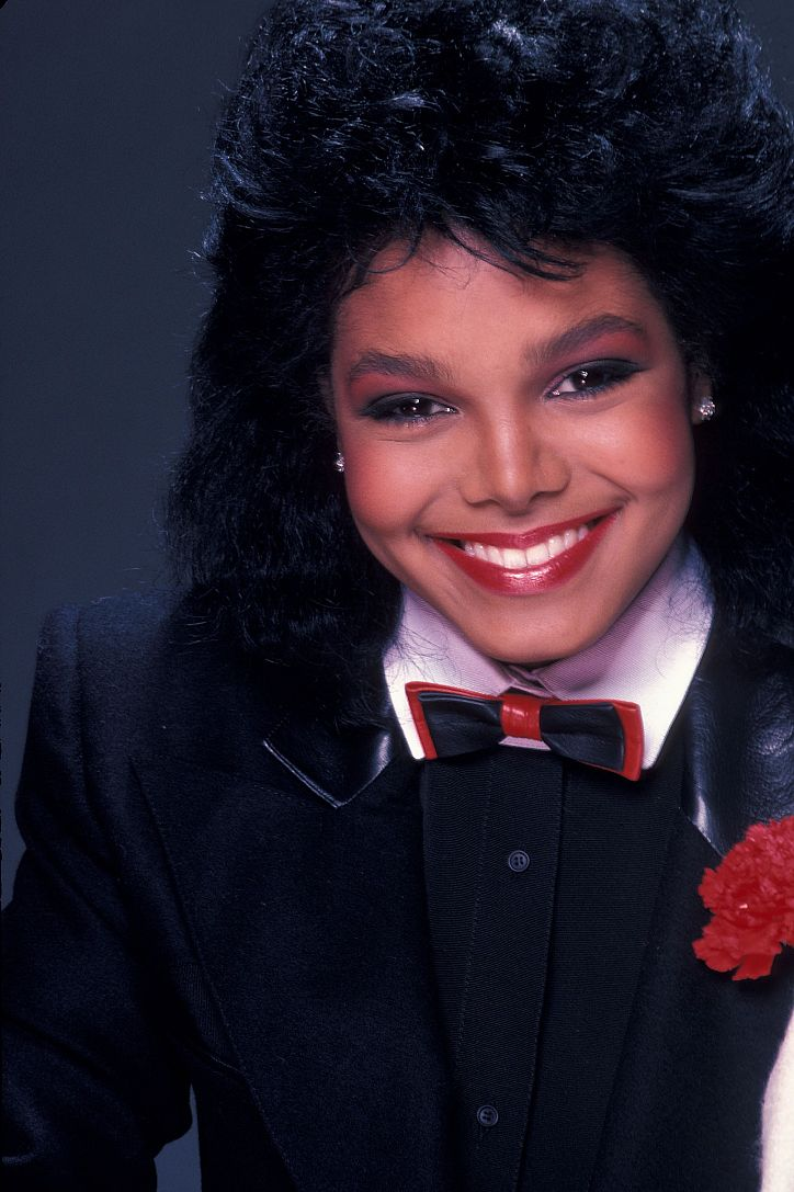 Janet Jackson 1982 and her cousin Autumn Jackson