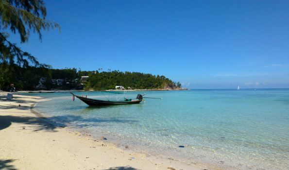 Best beaches in Thailand: Haad Salad Beach on Koh Phangan.