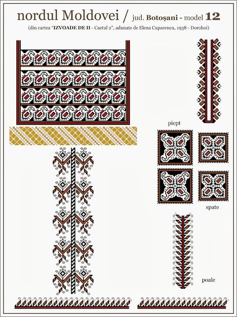 Semne Cusute: iie din nordul MOLDOVEI - Botosani