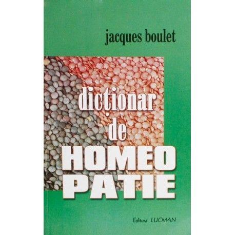 Dictionar de Homeopatie (ed. tiparita)