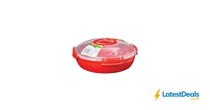 Sistema round Microwave Dish, Red, 1.3 L, £5.19 at Amazon UK