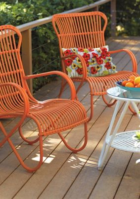 Summer Outdoor Furniture from Grandin Road.