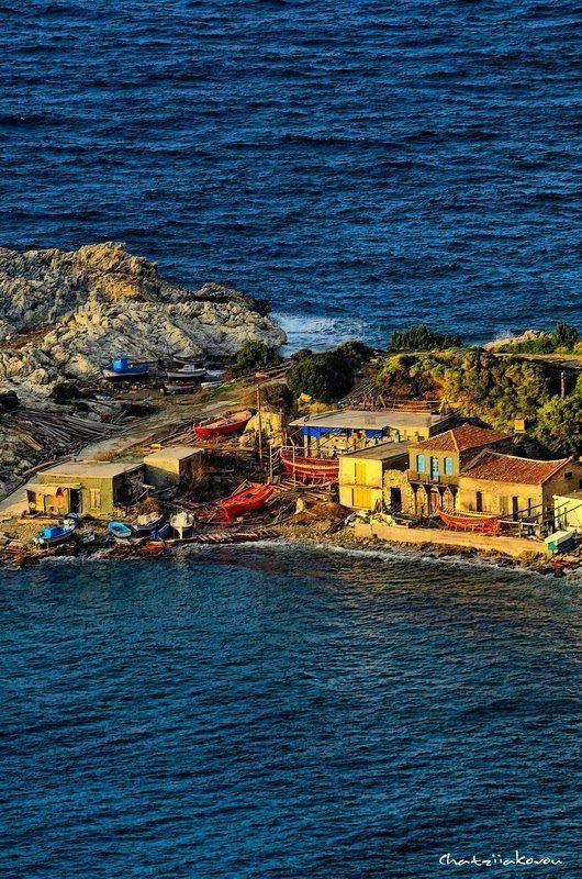 Samos Island, Greece by Nikos Chatziiakovou