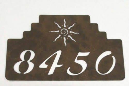 Southwestern House Numbers - The Southwest Store