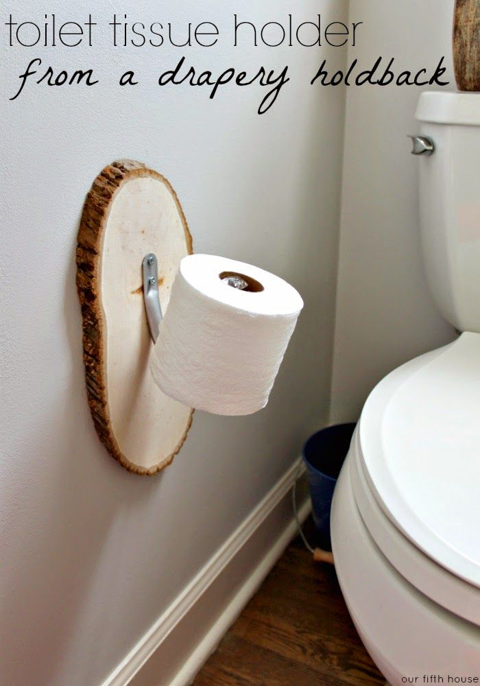 diy toilet tissue holder pond pinterest