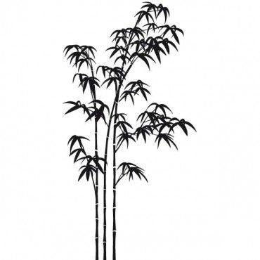 Sticker Bambou japonais
