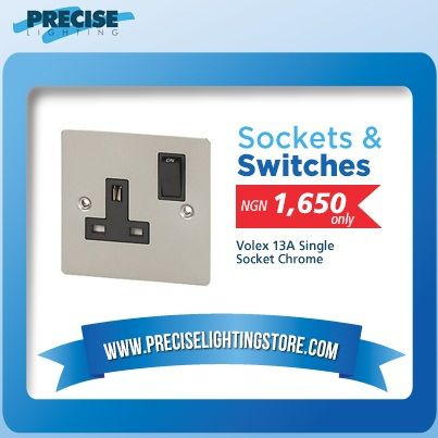 Preciselightingstore have a range of both high quality and modern switches & sockets. Find great deal on Preciselightingstore for light switches and sockets. http://www.preciselightingstore.com/Switches-Sockets