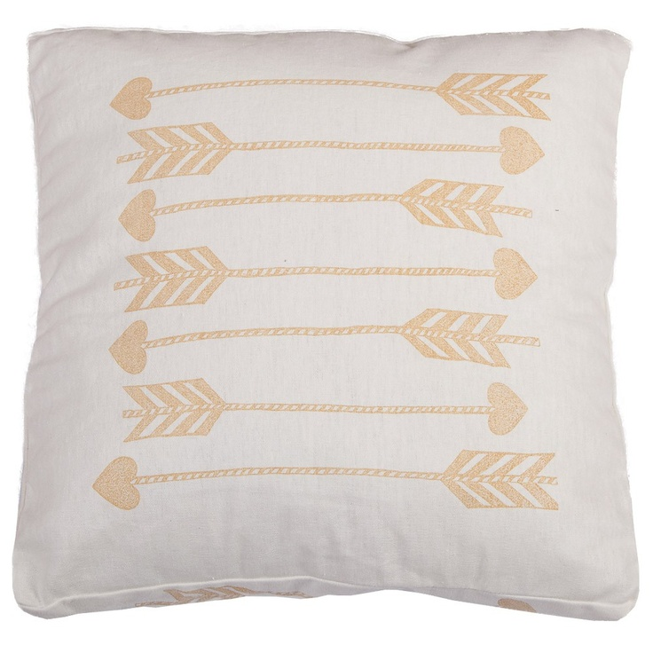 Ochre Arrows Cushion - Ourlieu - On Temple & Webster today!