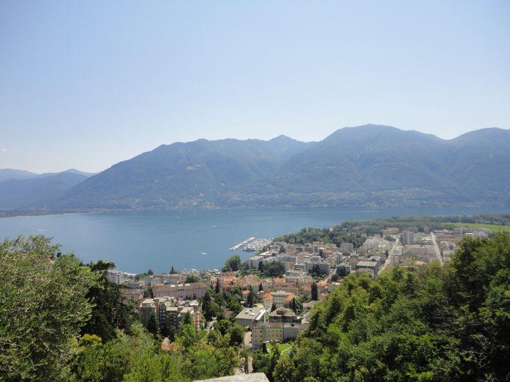 Lake Maggiore   Locarno   Tessin   Switzerland