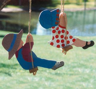 Swingin' Couple Woodcraft Pattern
