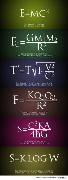 Physics    I suddenly realize my love affair with physics has informed my entire relationship philosophy foundation.