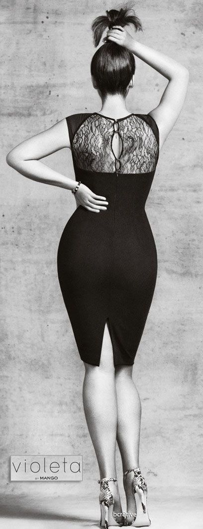 Violetta by Mango - Plus Sizes ------ THIS IS PLUS SIZE??? HOW ABOUT NORMAL WOMAN SIZES