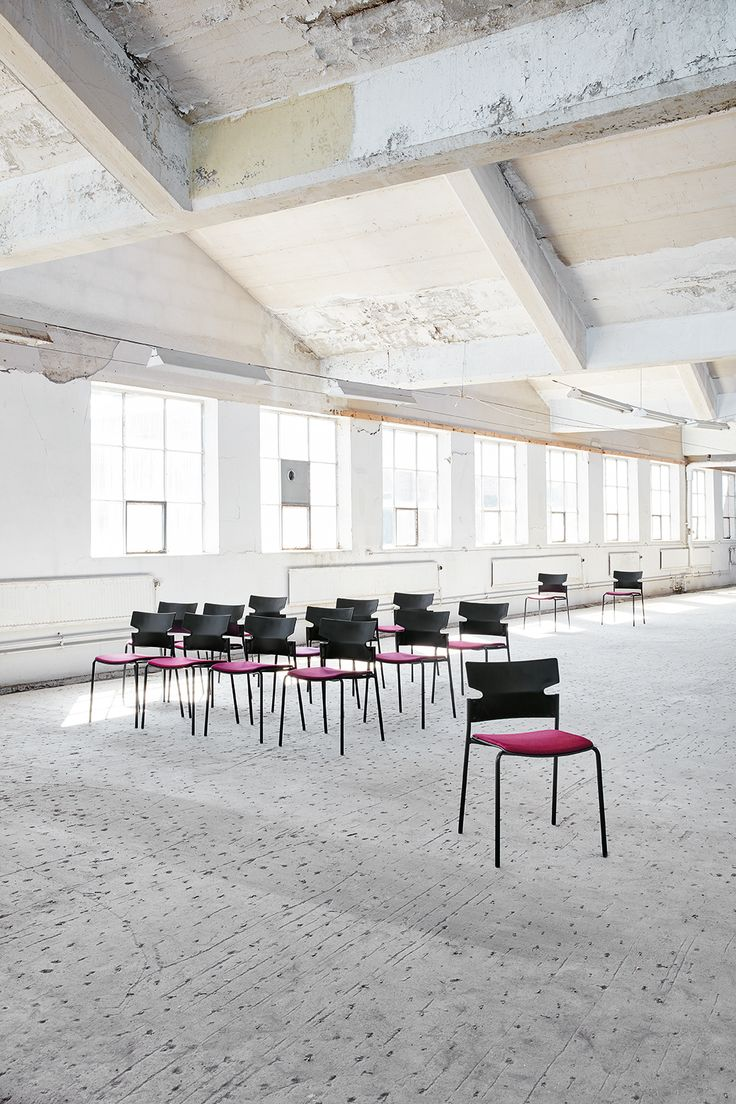 Stack+ chair & armchair, design: Fredrik Mattson | Styling: Katrin Bååth | Photo: Sara Landstedt