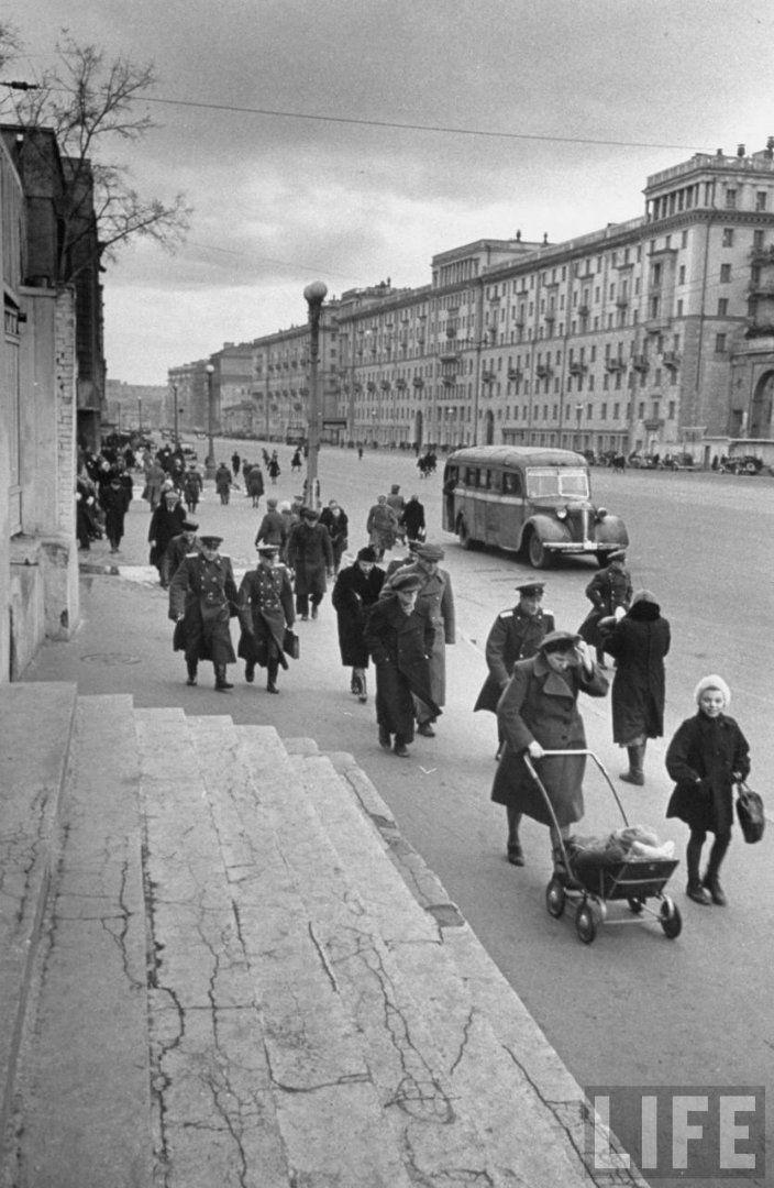 Москва, май 1947. Часть 1 - Записки скучного человека